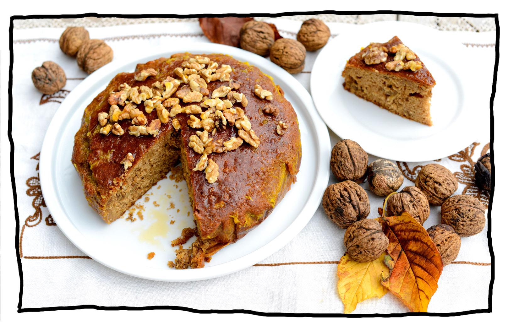 Recipe Moon Cake With Walnuts