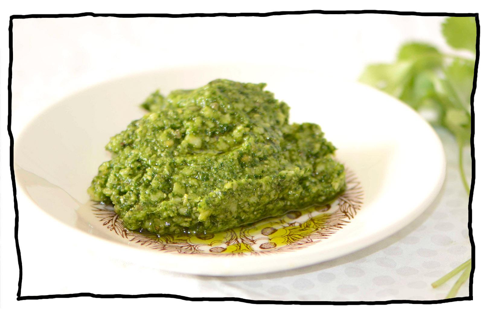 Coriander Pesto