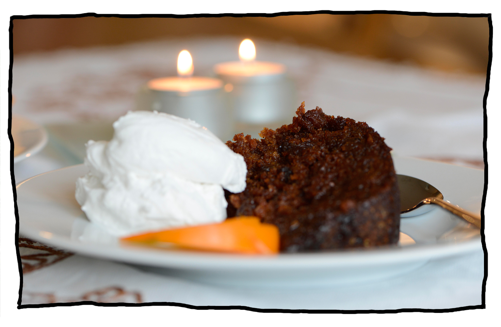 Persimmon Steam Pudding