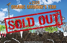 SOLD OUT - The 2020 Organic Gardener's Year